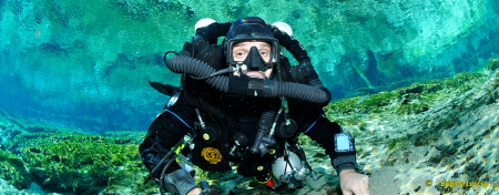 Closed Circuit Rebreather Diver